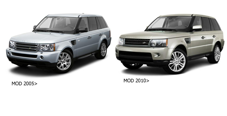 LR8662001 griglia rad vern grigio scuro//argento per Range Rover L405 dal 2012